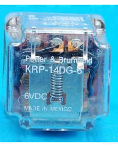 Potter & Brumfield - KRP-14DG-6 - 6VDC 3PDT-10A 11-pin round plug-in - New