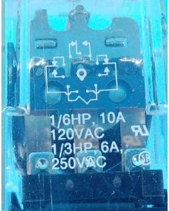 Potter & Brumfield - KRPA-14DG6 - Relay, DC. 3PDT 10Amp 6VDC. Used.