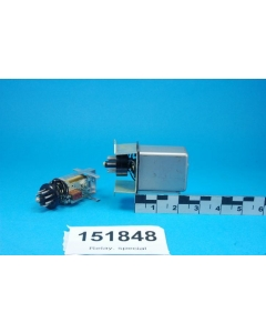 CP CLARE - A-47628 - 120VDC 18Kohm Octal Shielded Plate Relay