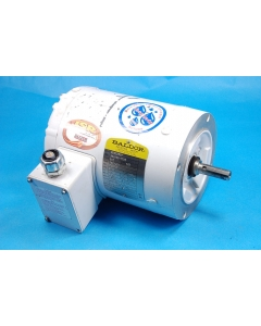 "BALDOR - CWDM3537 - 1/2HP 230/460 3-Ph 3630-RPM ""Wash Down"" enclosed"