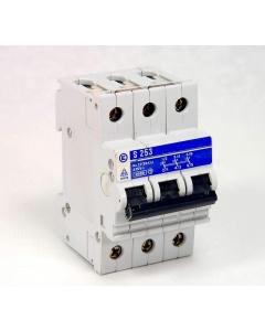 STOTZ - S253 - Circuit breaker. 3P 15Amp 415VAC.