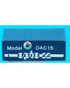OPTO 22 - OAC15 - SS Relay module - pulled from sockets
