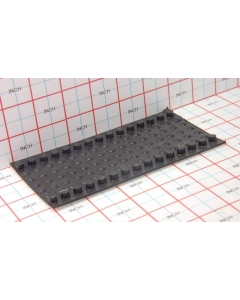 ITW - 4041-00-5075 U-41 - Bumpers, Self-adhesive. Sheet of 105 Pcs total.