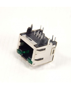 AMP INC - 2-406549-5 - Connector, jack. RJ45 8 contacts.