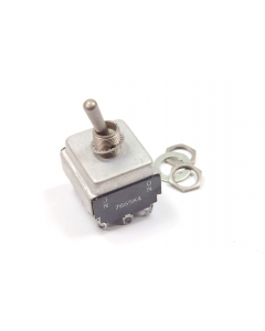 Cutler-Hammer / Eaton * - 7665K4 - Switch, toggle. 4PDT 15A 115VAC.
