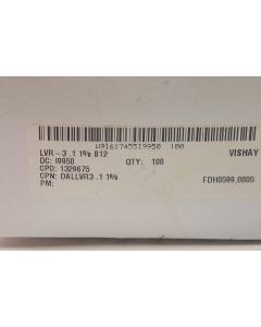 Vishay - LVR03R1000FB12 - Resistor, power. 0.100 Ohm 3W.