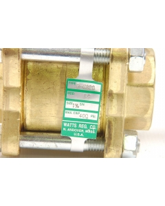 WATTS REGULATOR CO - B-6800 LC - 3-Piece, Full Port, Brass Ball Valve 400-psi