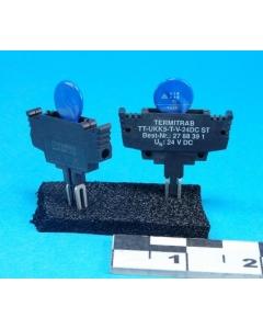 Phoenix Contacts - TT-UKK5-T-V-24DC ST - Termitrab/surge protector.