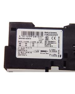 SIEMENS - 3RV1021-0DA10 - Circuit breaker. Motor starter protector.