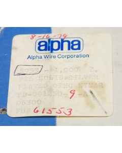 Alpha Wire Co. - 5953 - Wire, hook-up. 26-1C. Solid.