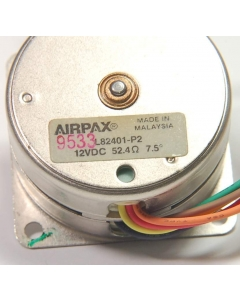 Siemans AIRPAX - L82401-P2 - Permanent Magnet Stepper Motor, 12VDC 52 Ohm, 7.5 Degree Step Angle.