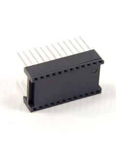 CIRCUIT ASSEMBLY CORP. - CA24S-T2WW - IC socket. Dip 24 pin WW.