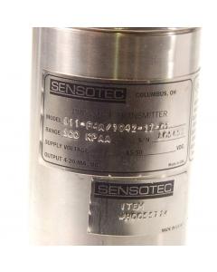 SENSOTEC - 811-FMA/1042-17-01 - Strain Gage, 500 KPAA Pressure Transmitter