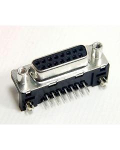 FCI ELECTRONICS - D15S33E6GV00LF - Connector, D-Sub. DB15 female STB