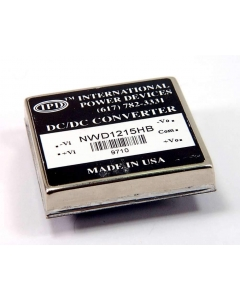 International Power Devices - NWD1215HB - DC/DC module.