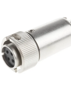 Hirose Electric Co Ltd - KMC9BRD-4S & KMC9BRD-4P - Connector Set, Bayonet Lock. Water Resistant.