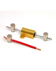 SPC Technology / SAMAR - MBP159 - Connector, binding post uninsulated. Package of 4.