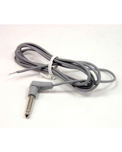"""SWITCHCRAFT - 15GD07284X - Cable Assembly. Male 1/4"""", RA plug."""