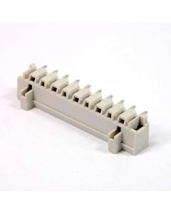 WAGO - 0721-0440/0001-0000 - 10-pos 5mm Right Angle terminal block