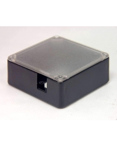 "Unidentified MFG - MS-278 - Project Box Enclosure - Black 3.3"" Square with Lid."