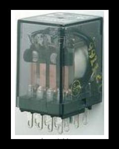TE Connectivity Potter & Brumfield - KHAU-17D16-12 - Relay, control, DC. Contacts: 4PDT.
