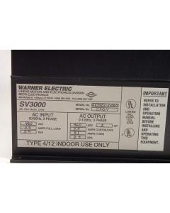 Warner Electric - SV3402-01000 - AC Motor Drive. 2HP 380-460V.