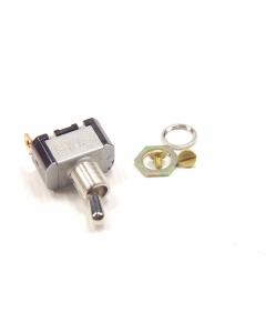 EATON - E10T106AS - Switch, toggle. SPST 6Amp 125VAC.