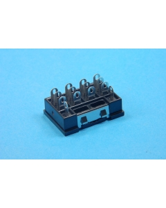 OMRON - D7PA7 - Connector, relay socket. 4PDT, PT-14.