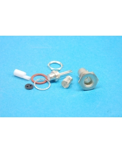 AMP INC - 332342 - Connector, BNC. Twin RF connector.