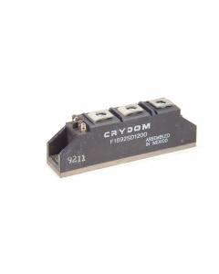 Crydon - F1892SD1200 - Thyristor module. 90Amp 480VAC. Used.