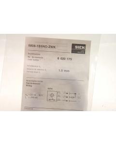 SICK OPTIC ELECTRONIC - IM08-1B5NO-ZWK - Sensor, proximity. Inductive DC 10-30V 200mA.