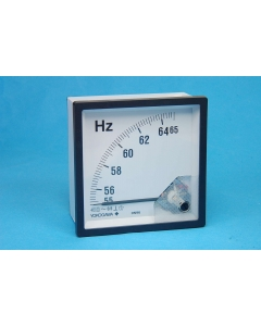 YOKOGAWA ELECTRIC WORKS (YEW) - DN96A80 - Meter, frequency. 55 to 65 Hz, 480V.