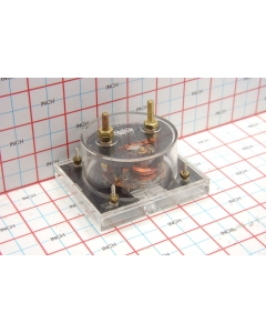 SIMPSON - 953 - Meter, AC Amperes. Scale: 0-50.