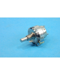 Honeywell Clarostat - CM42789 - Industrial Linear Potentiometer. 10 Ohm with SPST switch.