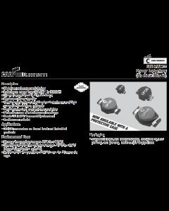 Eaton Coiltronics Cooper- UP4B-150 - Inductor, Ferrite Core. 15uH 5.5Amp.