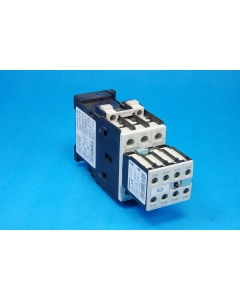 SIEMENS  - 3RT1025-1B..0 Contactor with - 3RT1025-1B - 3 Phase Motor Starter Contactor and 3RT1926-1BB00 Surge Suppressor.