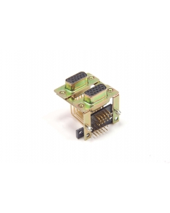 POSITRONIC - DDB15FR7/15FN70-260 - Connector, D-Sub. Dual DB15 F.