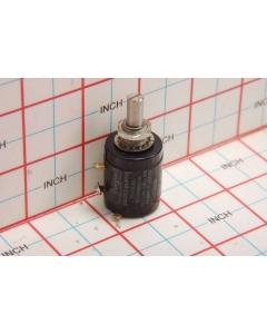 BOURNS - 3509S-8-202 - Potentiometer, linear. 2K Ohm 2W. Used.