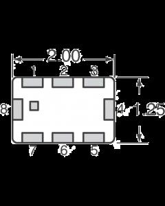 MURATA - LFB212G45BA1A220 - Filter, bandpass. 2.45GHz. Package of 10.