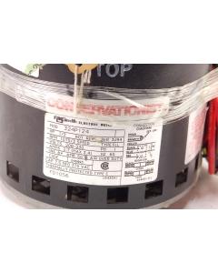 AO SMITH - 324P124 - Motor, AC. 1PH 1/2HP 208-230V 2.7A, 1075RPM/3Spd.