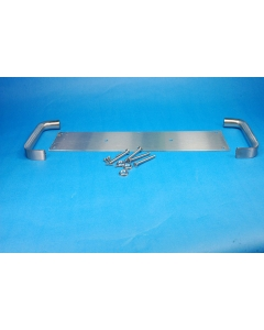 ROCKWOOD - 125 X 70C - Pull plate, with 2 handles and hardware.