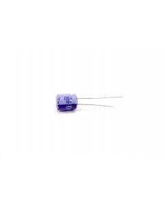 PANASONIC/MATSUSHITA - CAP3029 - Electrolytic. 220uF 16V. Package of 6.