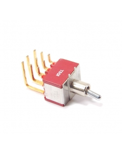 ITT - T301 - Switch, toggle. Contacts: 3PDT.