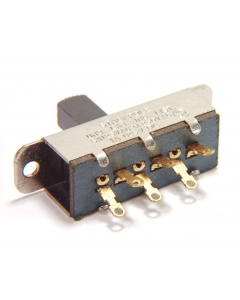 STACKPOLE - 3-045 - Switch, slide, snap. DPDT-6A. Package of 2.