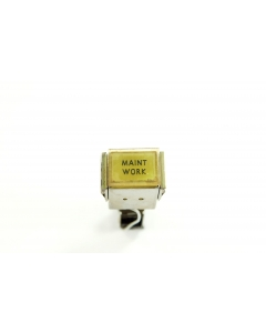 MICRO SWITCH - 3-057 - Switch, illuminated pushbutton. SPDT. Maint Work.