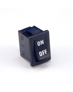 LIGHT COUNTRY - RA15KK2ToF - Panel Mount Rocker Switch,  SPST. Package of 10.