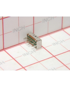 Unidentified MFG - 100132-001 - Switch, Slide. Contacts: DP3T, 2P3T, Package of 4.