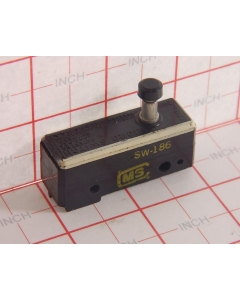 MICRO SWITCH - SW-186 - Switch, micro, p/b. SPST NC 15A 125V.