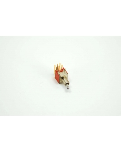 C & K Components - T201MH9ABE - Switch, toggle. DPDT 0.4VA 20V.