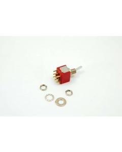 C & K Components - 7301SCWCGI - Switch, toggle. 3PDT 5A 120V.